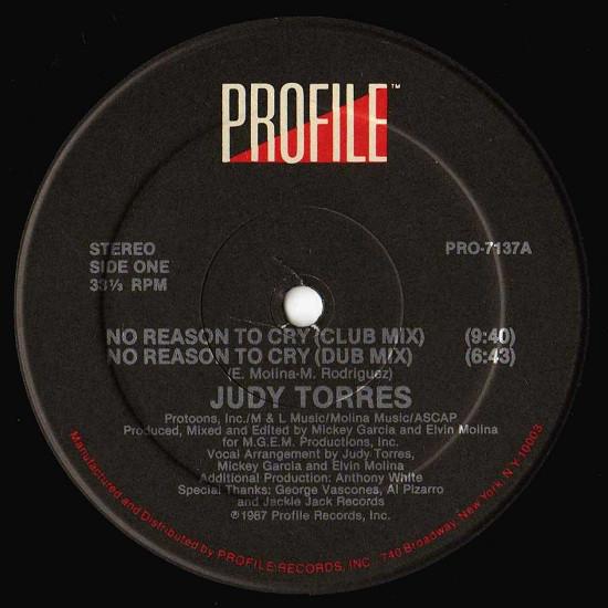 Judy Torres - No Reason To Cry