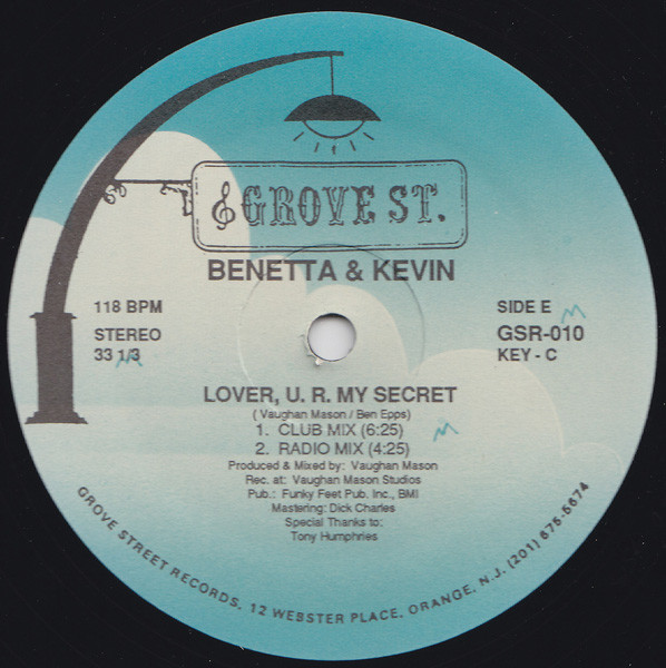 Benetta & Kevin - Lover, U.R. My Secret