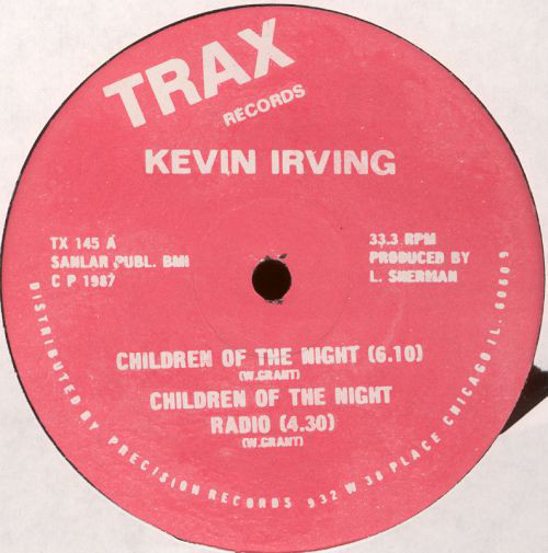 Kevin Irving - Children Of The Night