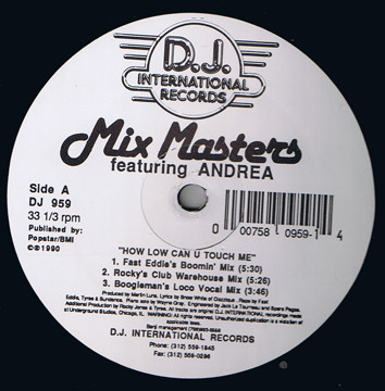 Mix Masters Featuring Andrea - How Low Can U Touch Me