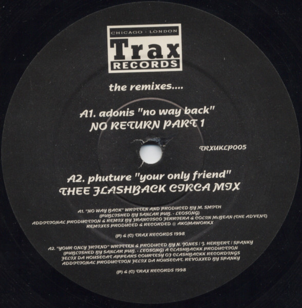 Various - Trax Records - The Remixes?.