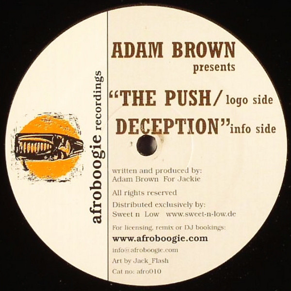 Adam Brown - The Push / Deception