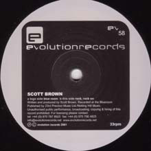 Scott Brown - Blue Room / Rock, Rock On
