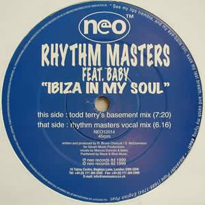 RHYTHM MASTERS feat BABY - IBIZA IN MY SOUL