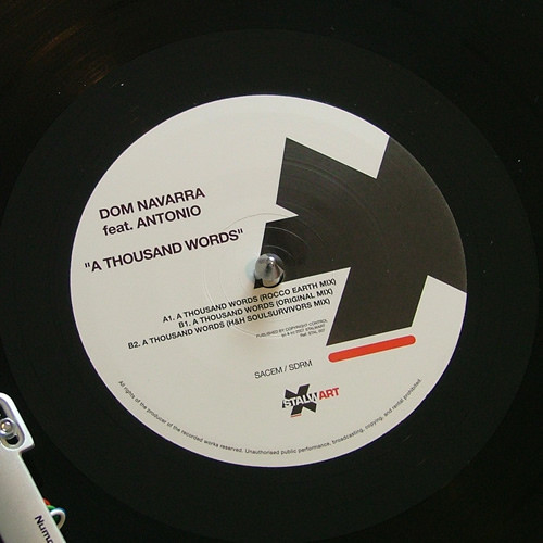 Dom Navarra Feat. Antonio - A Thousand Words