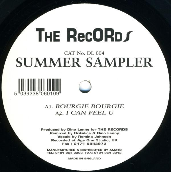 Britalics & Dino Lenny - Bourgie Bourgie - Summer Sampler