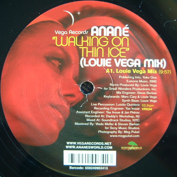 Anan? - Walking On Thin Ice (Louie Vega Mix)