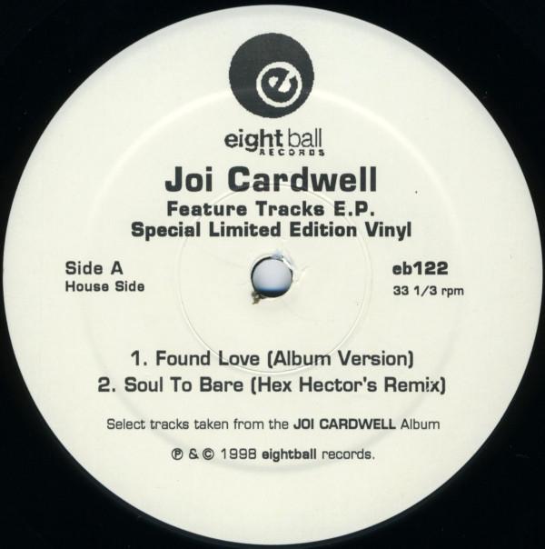 Joi Cardwell - Feature Tracks E.P.
