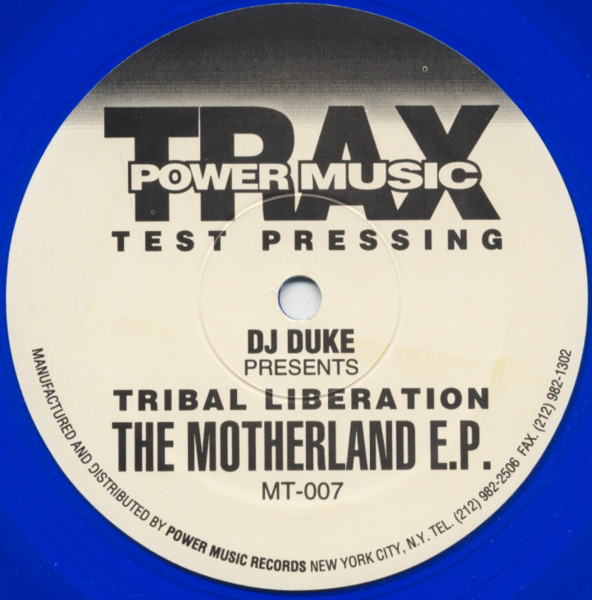 DJ Duke Presents Tribal Liberation - The Motherland E.P.