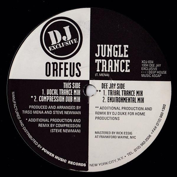 Orfeus - Jungle Trance