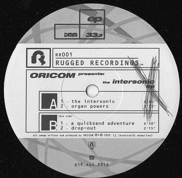 Oricom Technologies - The Intersonic EP