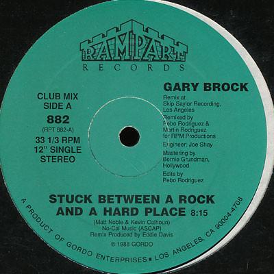 Gary Brock - Stuck Between A Rock And A Hard Place