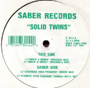 Solid Twins - Under & Under / Stranger Than Paradise