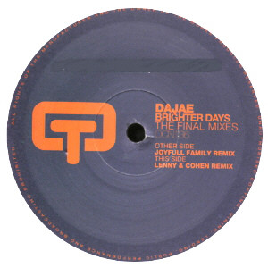 Daja? - Brighter Days (The Final Mixes)