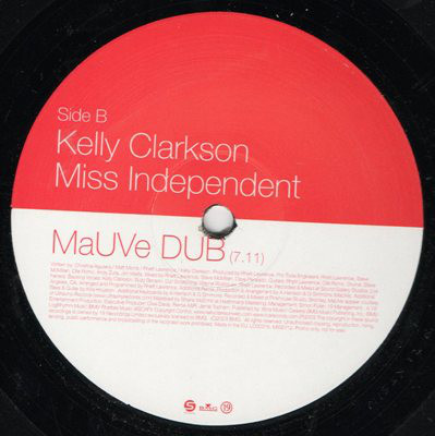 Kelly Clarkson - Miss Independent (MaUVe Mixes)