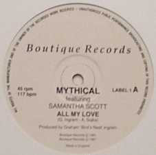 Mythical Featuring Samantha Scott - All My Love