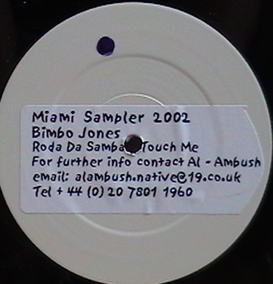 Bimbo Jones - Miami Sampler 2002
