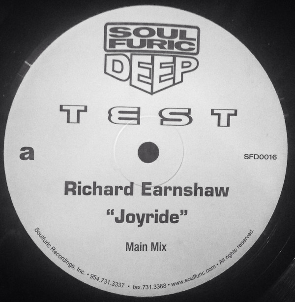 Richard Earnshaw - Joyride