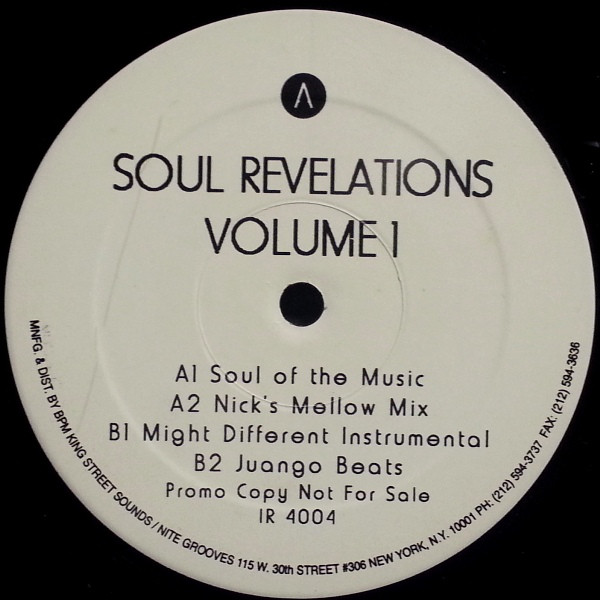 Nick Jones - Soul Revelations Volume 1