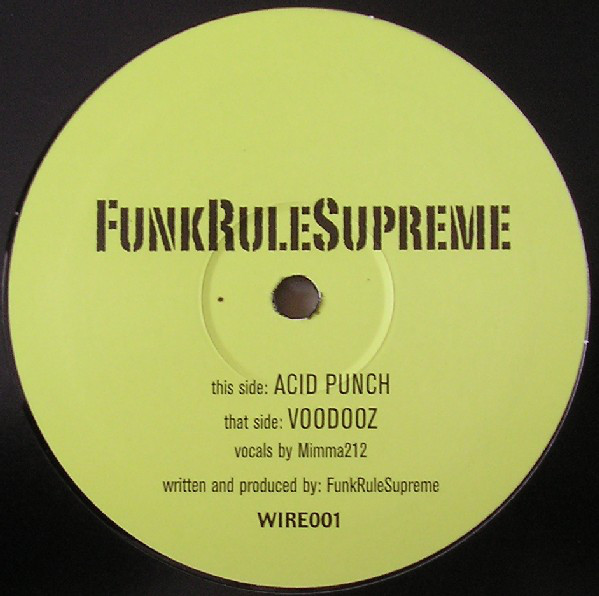 FunkRuleSupreme - Acid Punch / Voodooz