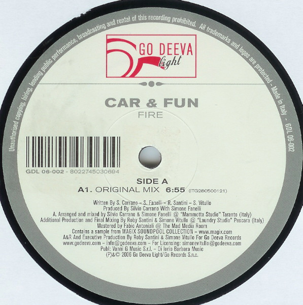 Car & Fun - Fire