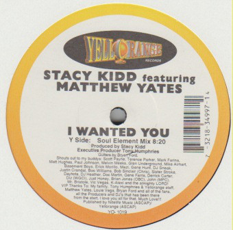 Stacy Kidd - I Wanted You
