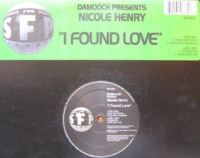Da Mooch Presents Nicole Henry - I Found Love