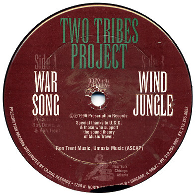Two Tribes Project - War Song / Wind Jungle