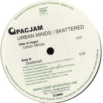 Pacjam - Urban Minds / Skattered