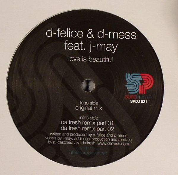 D-Felice & D-Mess Feat. J-May - Love Is Beautiful