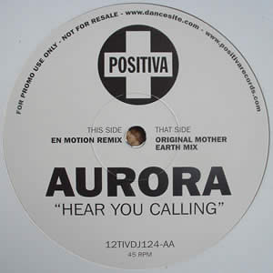 AURORA - HEAR YOU CALLING