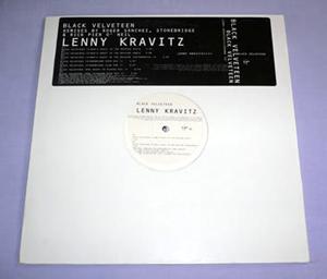 LENNY KRAVITZ - BLACK VELVETEEN (REMIXES)