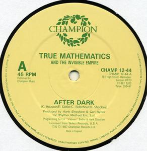 True Mathematics - After Dark