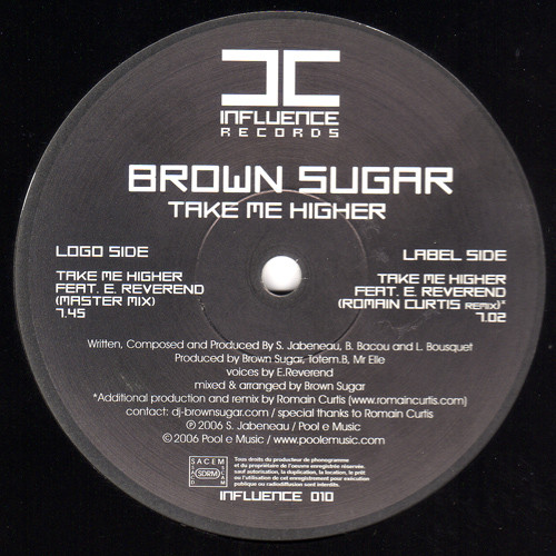 Brown Sugar Feat. E. Reverend - Take Me Higher