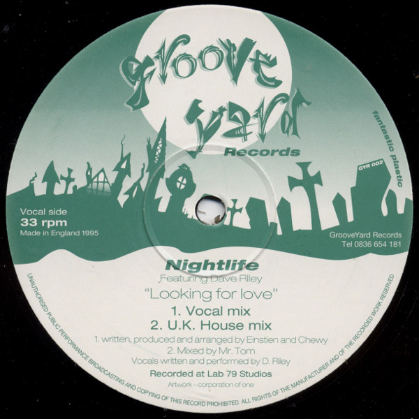 Nightlife Featuring Dave Riley - Looking For Love