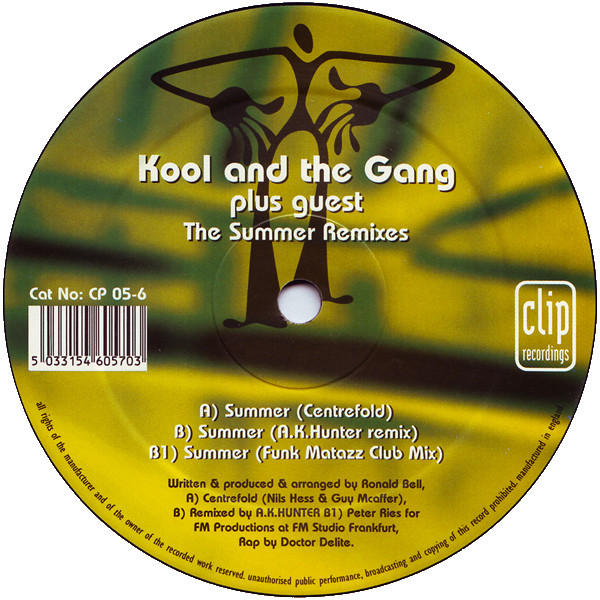 Kool And The Gang Plus Guest Lauren Hill - The Summer Remixes
