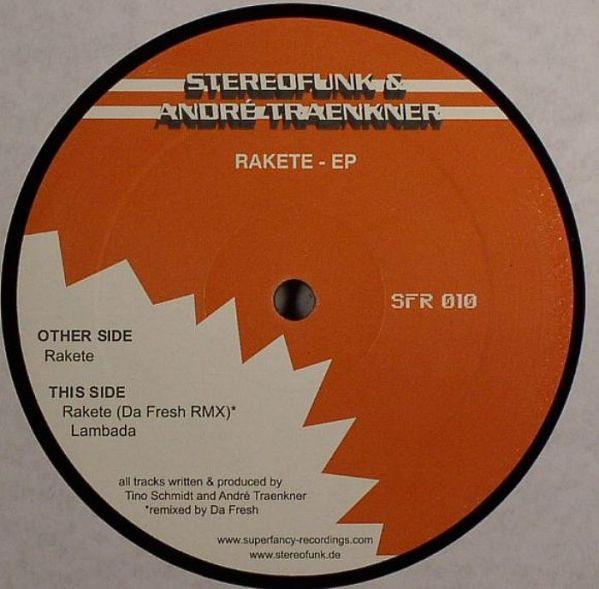 Stereofunk & Andr? Traenkner - Rakete - EP