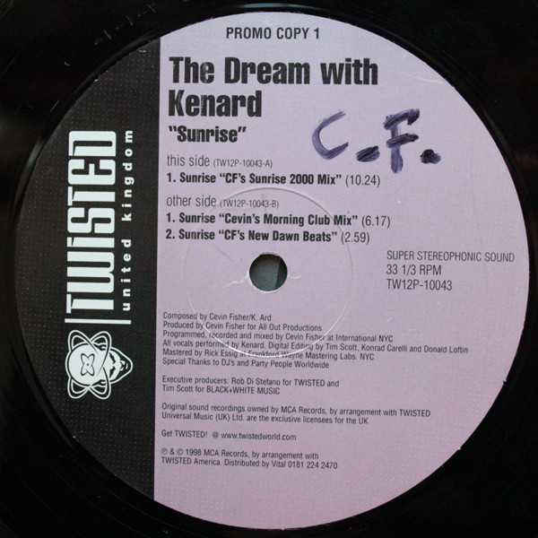 Dream With Kenard - Sunrise
