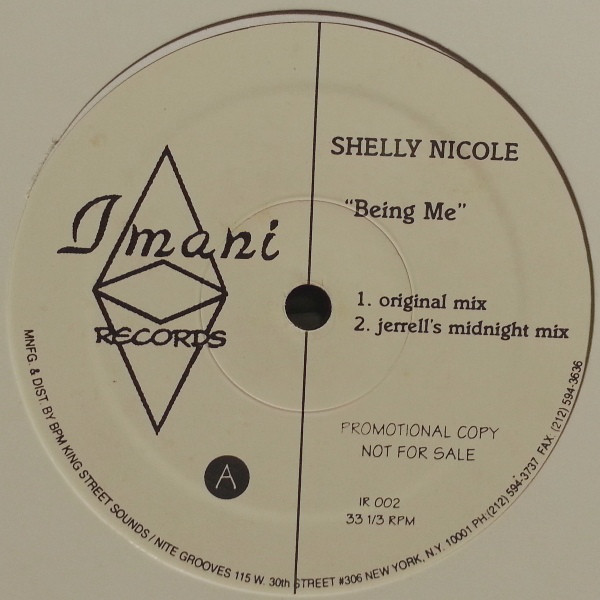 Shelly Nicole - Being Me