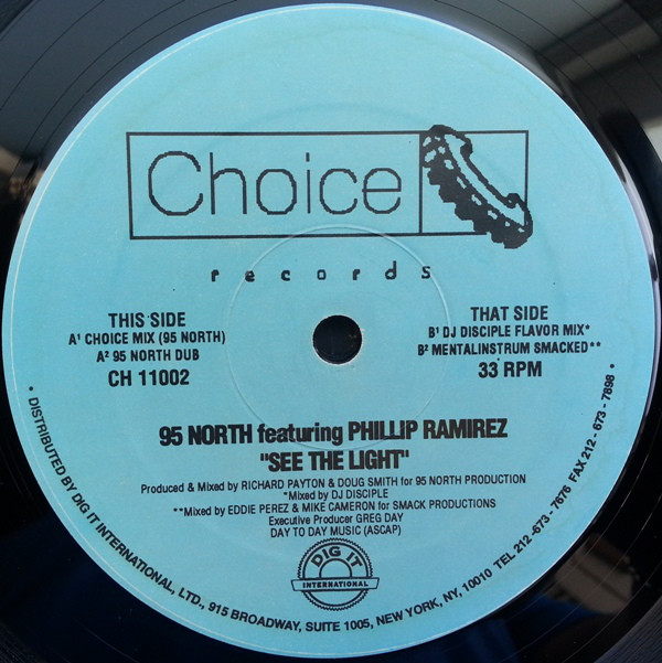 95 North Featuring Phillip Ramirez - See The Light