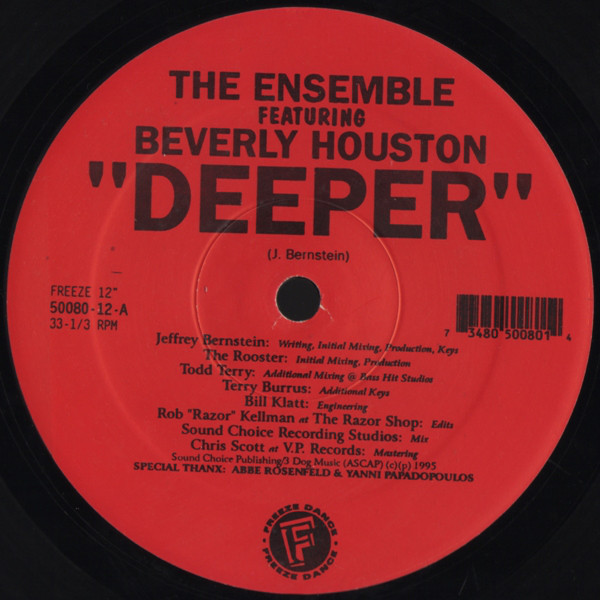 The Ensemble Featuring Beverly Houston -  Deeper