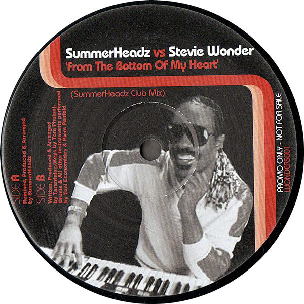 Summerheadz vs. Stevie Wonder / Tarantulaz - From The Bottom Of My Heart