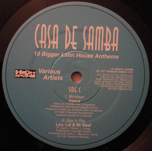 VARIOUS - Casa De Samba 2 - 12 inch x 2