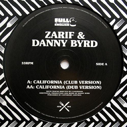 Zarif & Danny Byrd - California