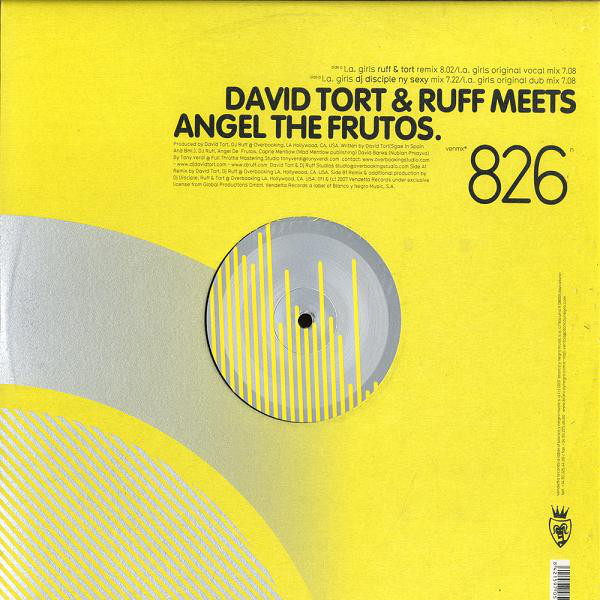 David Tort & Ruff Meets Angel The Frutos - L.A. Girls