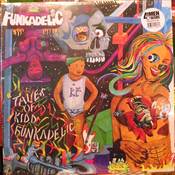 Funkadelic Tales Of Kidd Funkadelic Records Lps Vinyl