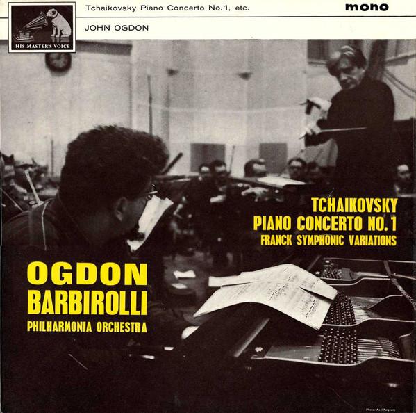 Tchaikovsky/ Franck ; Ogdon, Barbirolli -  Tchaikovsky Piano Concerto No.1