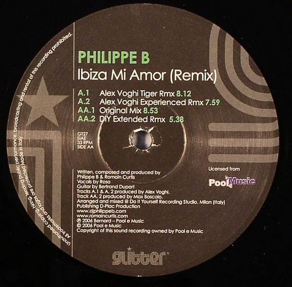 Philippe B. ? - Ibiza Mi Amor (Remix)