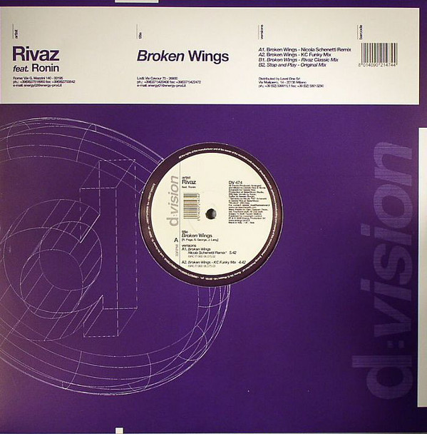 Rivaz Feat. Ronin - Broken Wings
