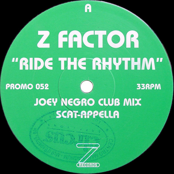 Z Factor - Ride The Rhythm